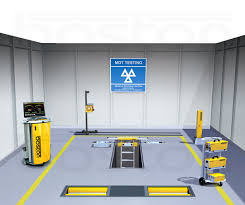 class 7 mot bay mot class 7 testing bay inspection pit boston garage equipment
