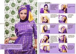 tutorial hijab pesta 2 kerudung kreasi tutorial hijab paris dua warna untuk acara wisuda dan pesta