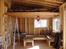 tiny cabin plans very good small cabin plans with loft house plan and ottoman
