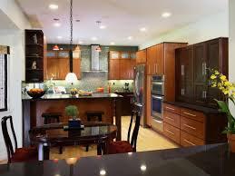 small eat in kitchen ideas brown granite countertop square blue
