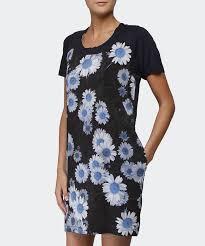 paul by paul smith daisy dress in blue lyst