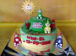 mynata cakes teletubbies birthday cake for nil el