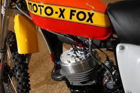fox motocross forks 1977 moto x fox pat richter team replica newmann u0027s bike check