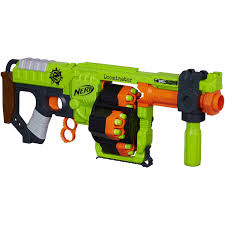 six gun city halloween nerf zombie strike doominator blaster walmart com