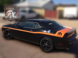 Dodge Challenger Orange - dodge challenger stripes racing stripes r t graphics u2013 streetgrafx