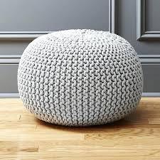 knitted pouf ottoman target round pouf ottoman knitted silver grey pouf white pouf ottoman