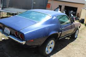 1973 camaro split bumper for sale no reserve 1973 chevy camaro split bumper rs ss z28 project 70 71