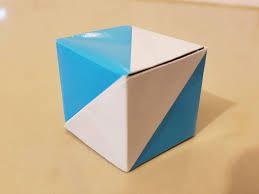 Argentina Flag Photo Origami Cube Gift Box Flag Box Pictures