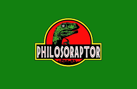 Funny Dinosaur Meme - philosoraptor meme funny velociraptor dinosaur t shirt laptop skins