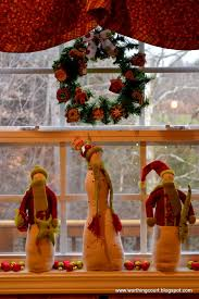 window sill christmas decorations christmas pinterest window