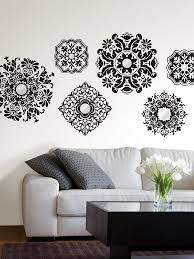 Wall Decor Stickers Walmart by Black And White Wall Decor Wall Shelves