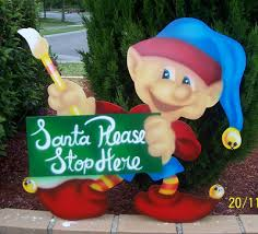 bright design section 04 elf outdoor christmas displays
