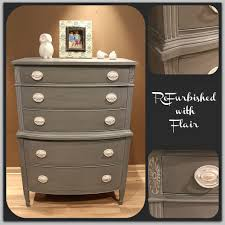 drexel highboy painted with maison blanche u0027s confederate gray and