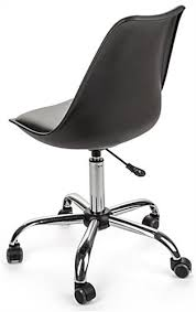 Desk Chair With Wheels Molded Wheeled Office Chair Padded For Comfort