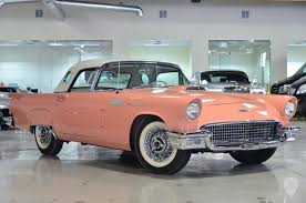 Muscle Cars For Sale In Los Angeles California 1957 Ford Thunderbird In Los Angeles Ca United States For Sale On