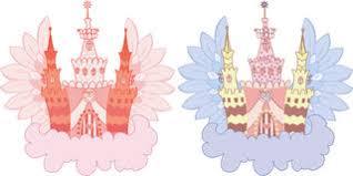 Castle On A Cloud Cartoon Fairy Castle On A Cloud Royalty Free Stock Photos Image