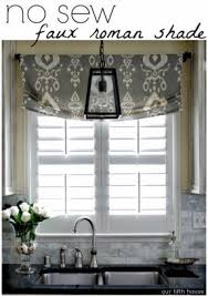 How To Make A No Sew Window Valance Curtain And Valance Foter