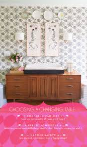 Pink Changing Table by On Choosing A Changing Table Lay Baby Lay