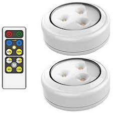 puck lights with remote battery operated puck lights under cabinet lights ls plus