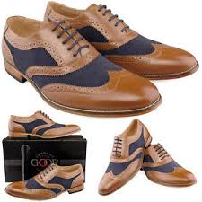 Sho Gatsby boys new navy brown gatsby wedding suit brogues shoes 11 6 ebay