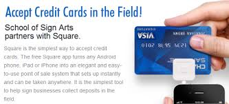 Credit Card Signs For Businesses Turn Your Smart Phone Into A Credit Card Reader U2026 Free Of