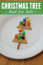 toddler approved simple christmas tree treat for kids