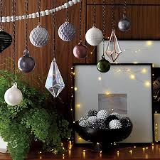 Christmas Decoration Images Modern Holiday Decor And Christmas Decorations Cb2