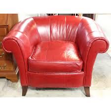 red leather club chair u2013 modern furniture