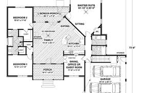 craftsman style house plan 4 beds 3 baths 1800 sq ft 4bed 3bath