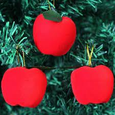 aliexpress buy 12 pcs set apple ornament pendant