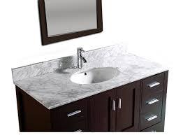 48 Single Sink Bathroom Vanity by 48 Inch Single Sink Bathroom Vanity Marble Countertop 9150c