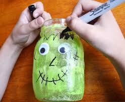 Halloween Mason Jar Ideas Diy Halloween Mason Jar Candles Play Cbc Parents