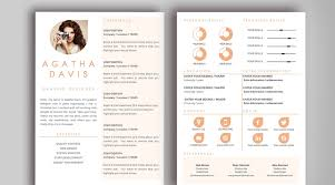 Resume Templates For Indesign Unique Resume Template Buy Unique Resume By Mistye On