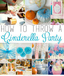 cinderella decorations how to throw a cinderella party simply being