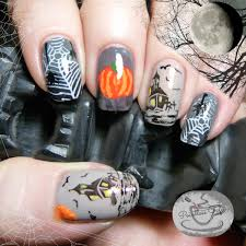 halloween nail art pointless cafe