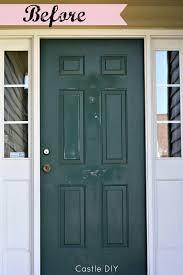 castle diy front door make over before u0026 after