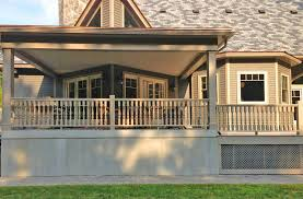 traditional cedar porch spindles turned balusters colonial