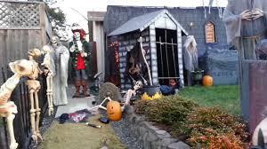 halloween yard display 2013 youtube