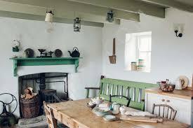 cottage interior restored whitewashed cottage in the west interior architectural