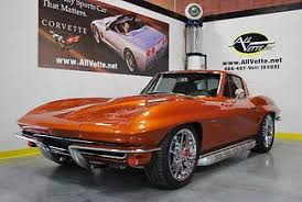 atomic orange corvette convertible for sale chevrolet corvette z 1964 corvette coupe atomic orange