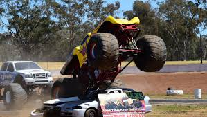 monster trucks shows monster trucks ready to rumble in dubbo video photos daily