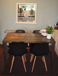rustic handmade industrial kitchen table iron legs 4 x black rustic handmade industrial kitchen table iron legs 4 x black chairs
