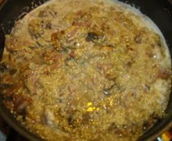 cuisiner quinoa risotto de quinoa aux chignons recette de risotto de quinoa aux