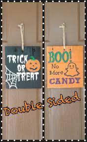 doorsigns halloweendoorsigns halloweendoublesidedsigns