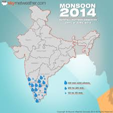 India Weather Map by Is An El Nino Impeding Indian Monsoon Progress At Present The