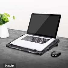 Laptop Cooling Desk by Havit Hv F2068 5 Fan Laptop Cooler For 14 17 Inch Laptops Havit