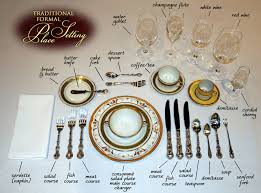 table settings speak non verbally about the etiquette formality