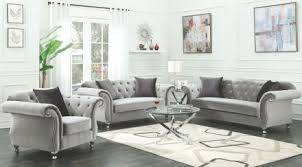 silver living room furniture coaster frostine silver living room set frostine collection 13