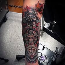 wonderful bear totem tattoo creativefan