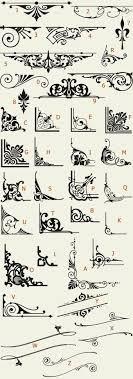 letterhead fonts lhf americana ornaments golden era studios